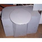 Grey Toilet