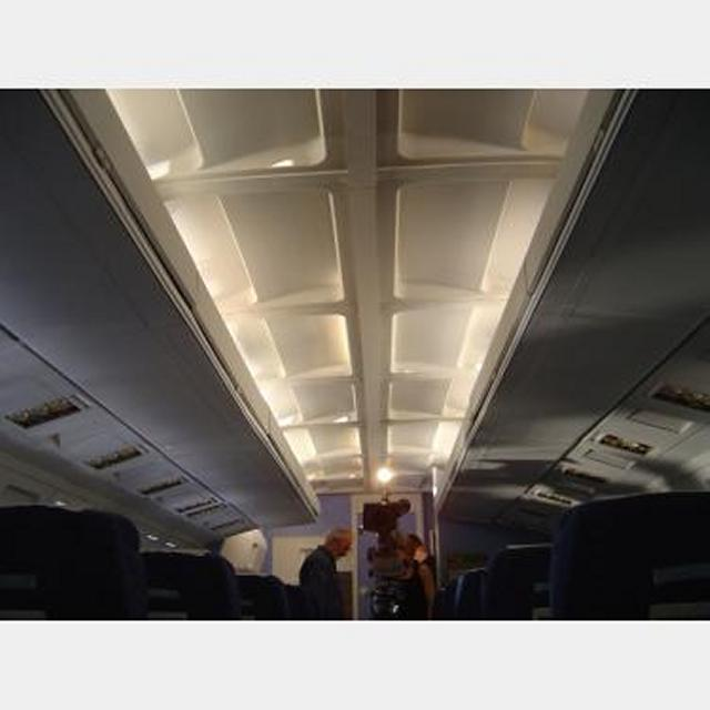 Aircraft Ceiling Section