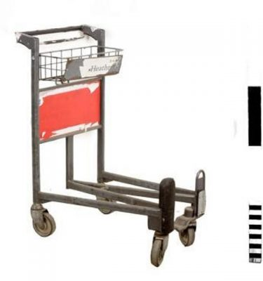 Airport Trolley X 5 Off 1020X330X830Mm