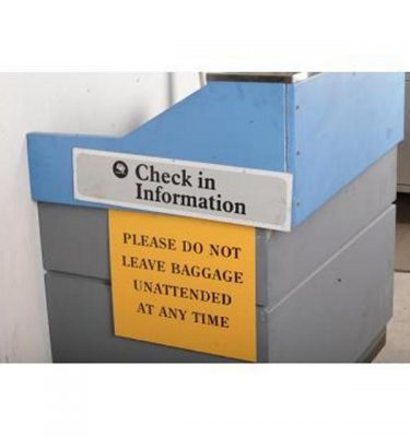 Airport Check In Desk X 4 Off 1210X1210X820Mm