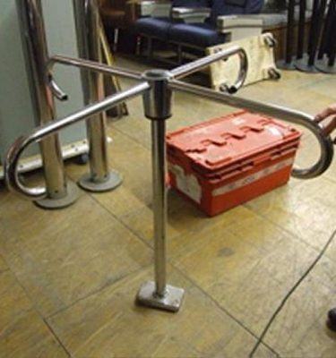 Chrome Turnstile