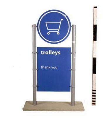 Free Standing Airport Display  1780X1090X460Mm