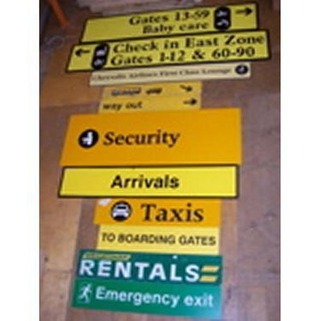 Various Signs - S