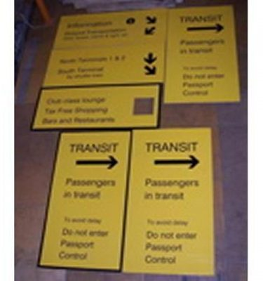 Various Transit Signs