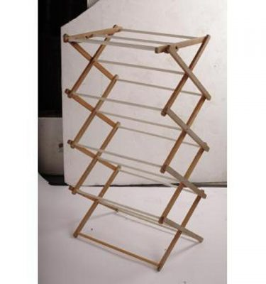Clothes Horse Wood Vertical