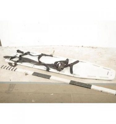 Stretcher With Secure Body Straps 460X1850