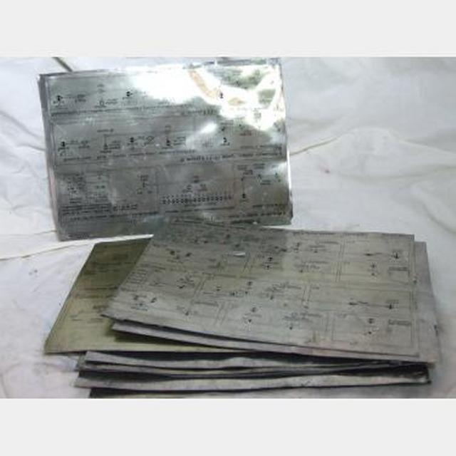 Russian Metal Instructions Plates