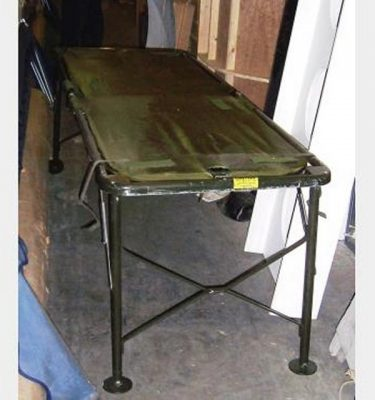 Army Folding Bed X10