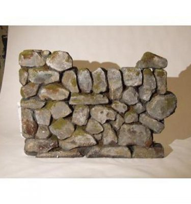 Wall Mock Dry Stone Section