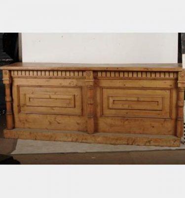 Wooden Bar 1050X2570X585
