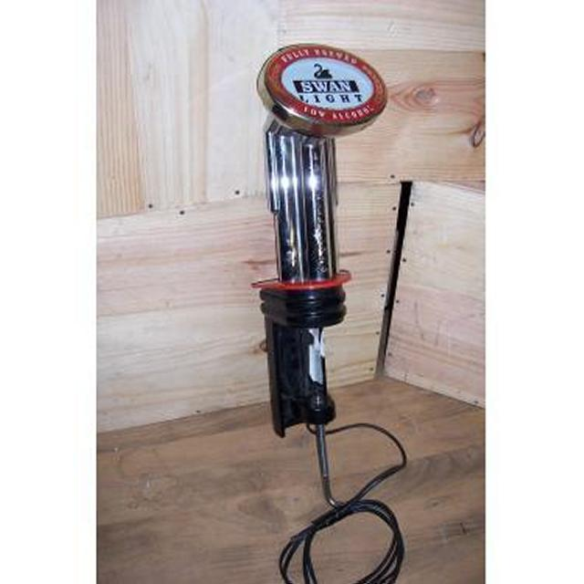 Swan Light Beer Pump