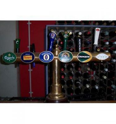 Brass Stand With Assort Beer Pumps