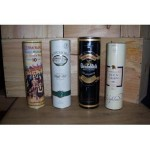 Selection Of Whiskeys Bottles
