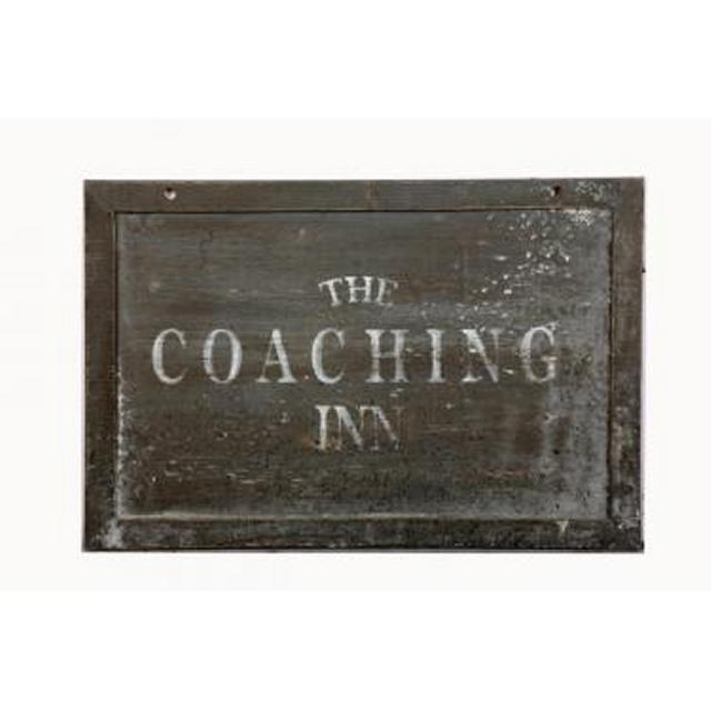 Pub The Coaching Inn Wooden Signage 605X210