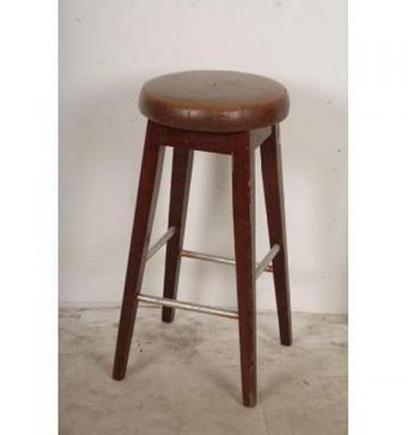 Leather Top Bar Stools X6    720X375X375