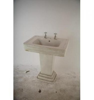 Art Deco Basin With Stand 830X750X520
