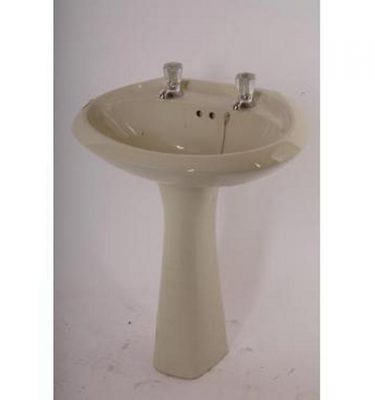 Basin With Matching Stand 830X550X470