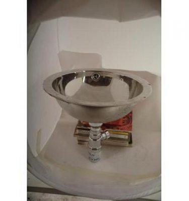 Stainless Steel Basin 450X450D