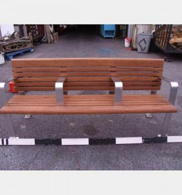 Wooden Park Bench X4 1850X850X600