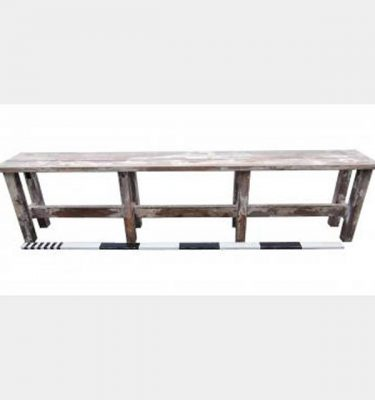 Wooden Benches X4 650X2620X370Mm