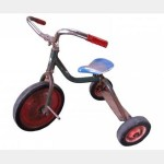 Aged Tricycle