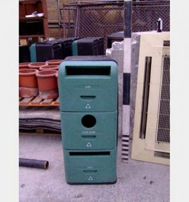 3 Tier Recycling Bins X6