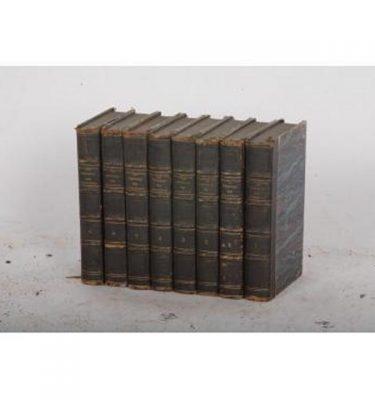 Books 'Des Cirondins Lamaratine Historie' X8