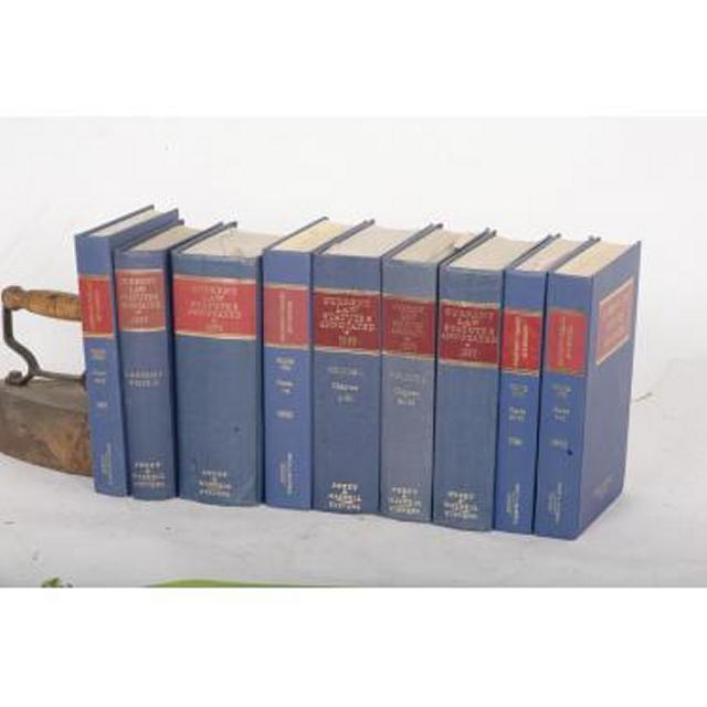 Books Current Laws And Statutes Annotated
