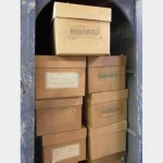 Various Carboard Boxes With Labels