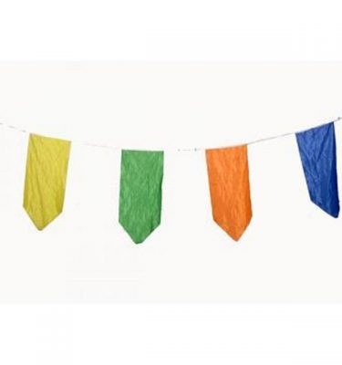 Bunting Material Multi Coloured