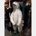 Fibreglass Polar Bear 2150X650X500