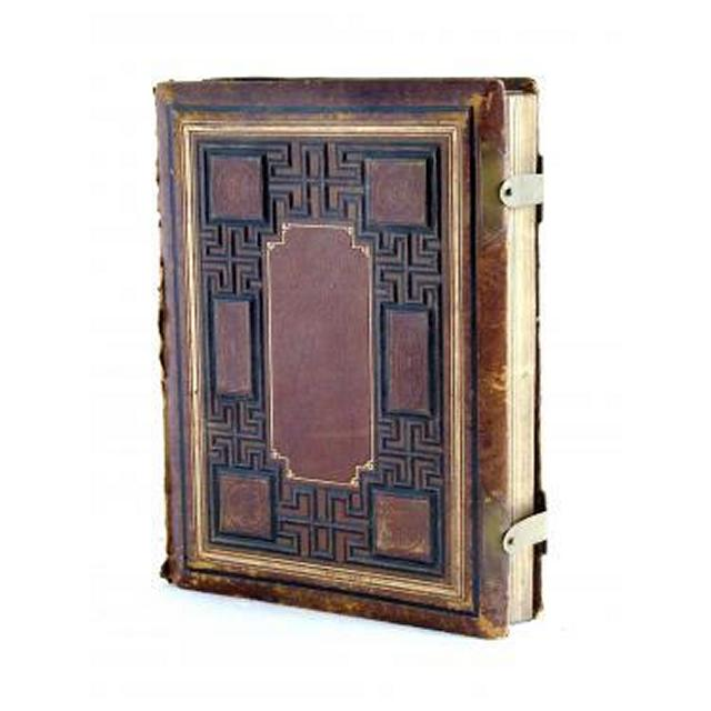 Holy BibleLargeLeather And Gilt Embossed Cover 300Mm 230Mm