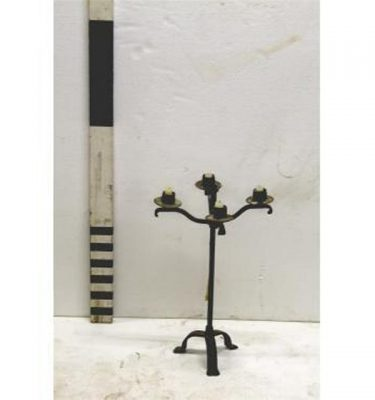 Candleabra Wrought Iron 4 Way22""""""""