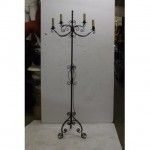 "X2 Candleabra Electric 4 Way 69"""""""" X 24"""""""""