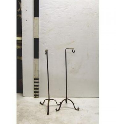 X2 Wrought Iron Tripod Base Stands 33""""""""