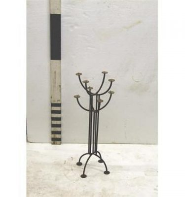 X1 Candleabra Wrought Iron 8 Way 25""""""""