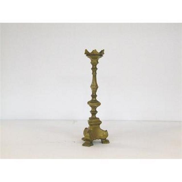 Candlestick X1 Brass Single Ornate 320Mm