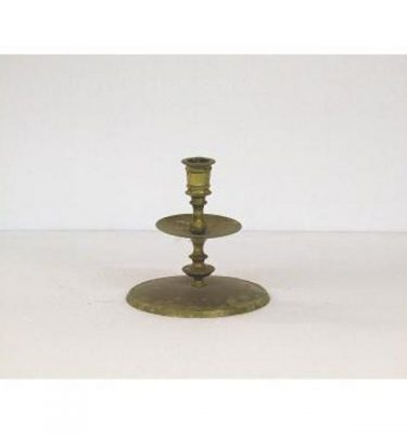 Candlestick X1 Brass Single 150Mm