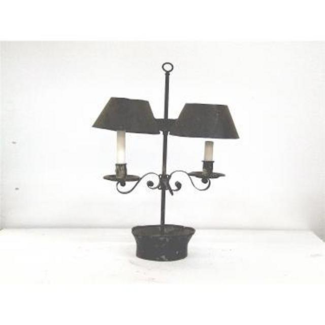 Candlestick X1 Iron 2 Way With Shades 500Mm