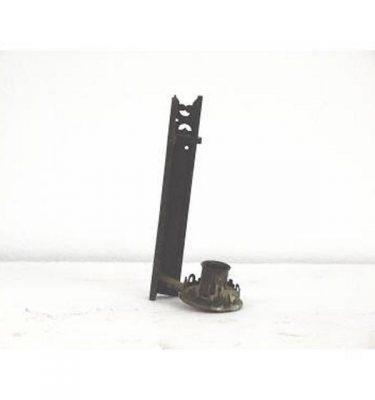 Candlestick X2 Brass Single 200Mm