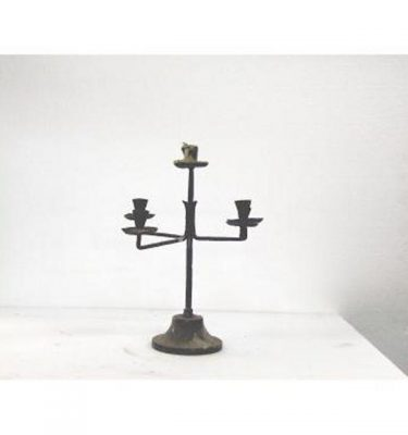 Candlestick X1 Brass Single 290Mm