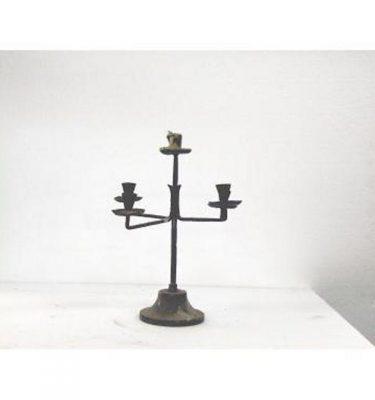 Candlestick X1 Brass Single 290Mm