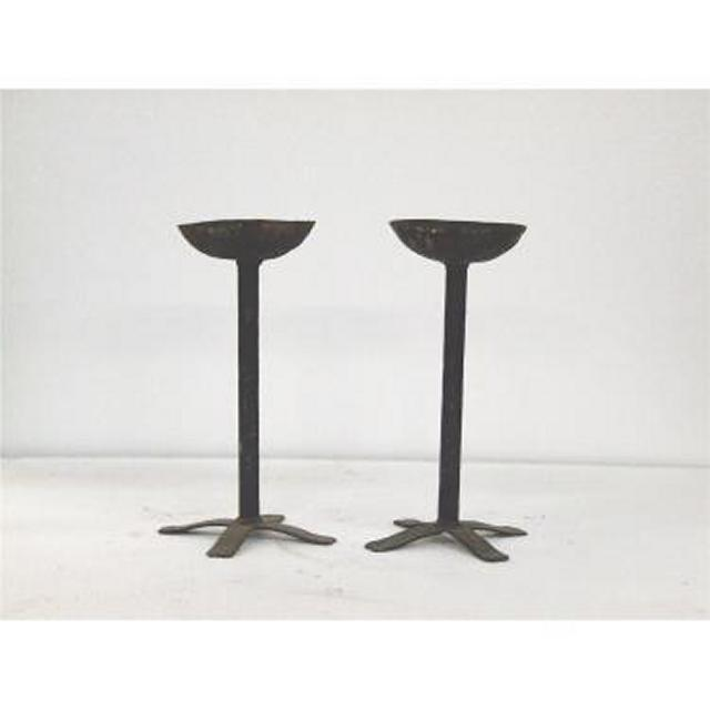 Candlesticks X2 BrassSingle490Mm (Good Quality)
