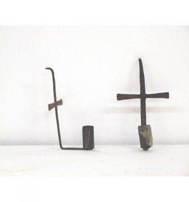 Candlestick X1 Iron4 Way530Mm