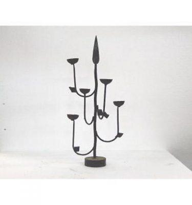 Candlestick X1 Iron 5 Way 500Mm X 480Mm