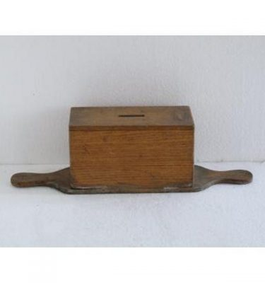 Wood Donation Box Doube Handle (No Size)