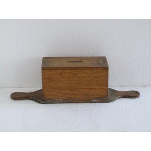 Wood Donation Box Doube Handle (No Size)