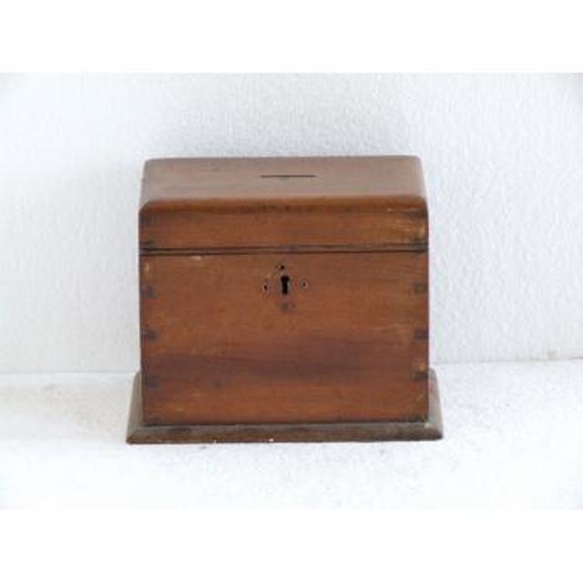 Wood Donation Box 102Mm X 165Mm