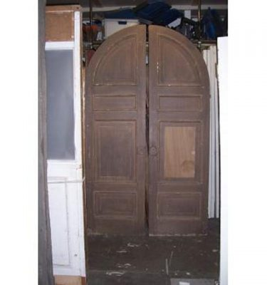 Doors Arch Dble  Panelled