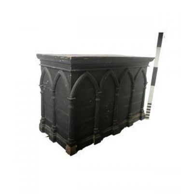 Painted Gothic Pine Altar 1060X1580X760